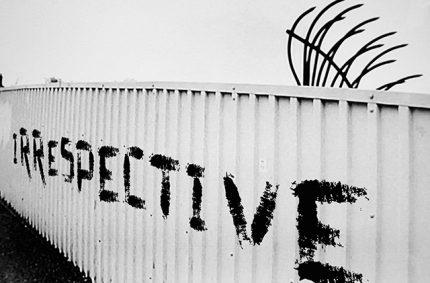 Tim Williams – Irrespective. Derby, London & New Work
